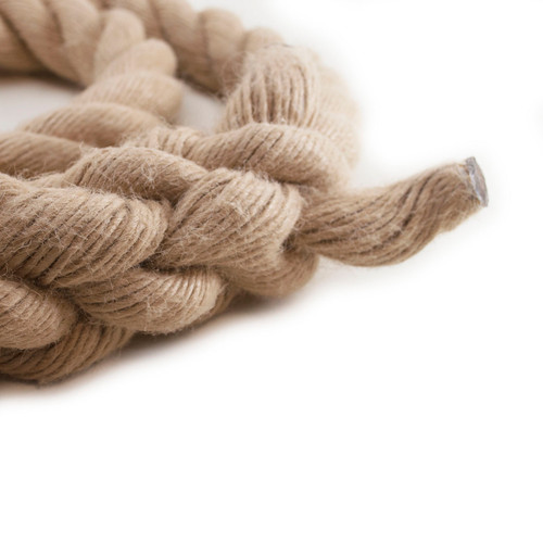 """Hempex Climbing Rope w/an eye splice on one end, whipped on the other end - 1 1/2"""" x 20'"""