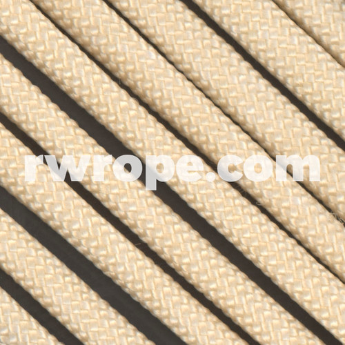 650 Flat Coreless Paracord in Cream