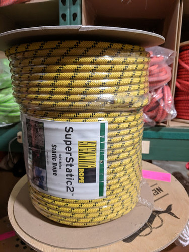 Sterling SuperStatic2 9mm x 600 FT. Yellow