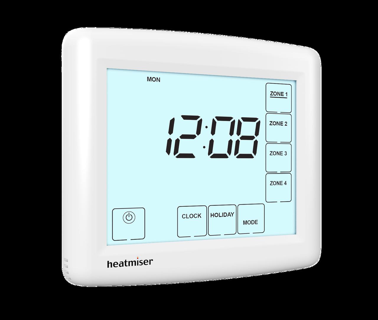 4 Zone Time Clock Programmer - Heatmiser TM4-TS