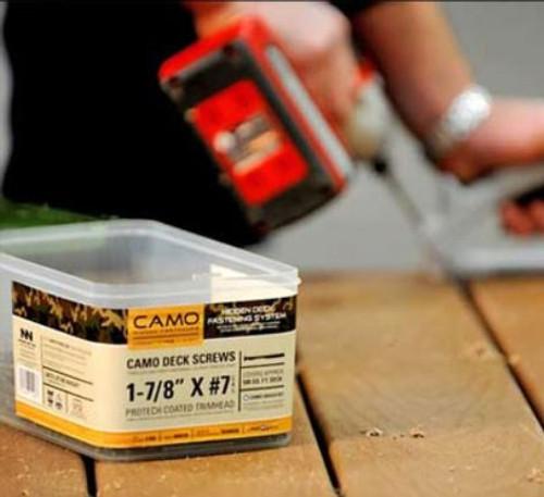 Camo ProTech Coated Edge Deck Screw
