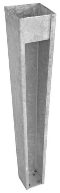 "Missouri Vinyl Products 4x4"" Galvanized Post Base"