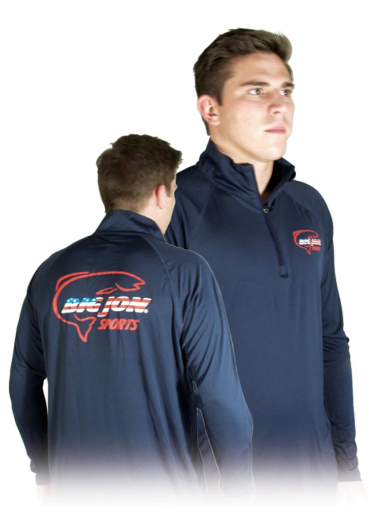 Navy Long Sleeve 1/4 Zip