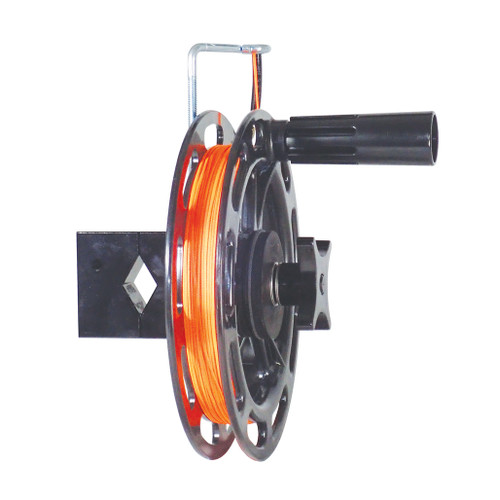 "If you want to custom build your own planer system, you're in luck! You can mount Big Jon's Single Manual Planer Reel to any mast, rail or radar arch that is 7/8 inch to 1 1/2 inch outside diameter. Add Big Jon's Planer Pulley to complete you planer system. Fishing with Big Jon planer riggers allows you to spread your lure presentation over a wide area,  an advantage when fishing ""Boat Shy"" fish."