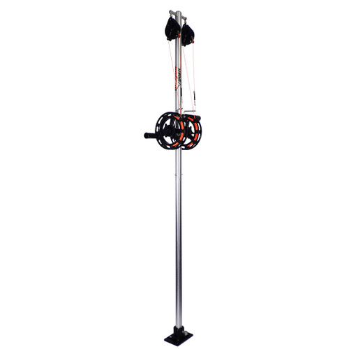 "Big Jon's Dual Manual Planer Rigger has been long regarded as ""The Industry Standard""; for good reason, it is constructed from high-strength aluminum! The 1 1/2 inch diameter tubing used for the mast has a 1/8th inch wall thickness! You won't find a sturdier mast on the market."