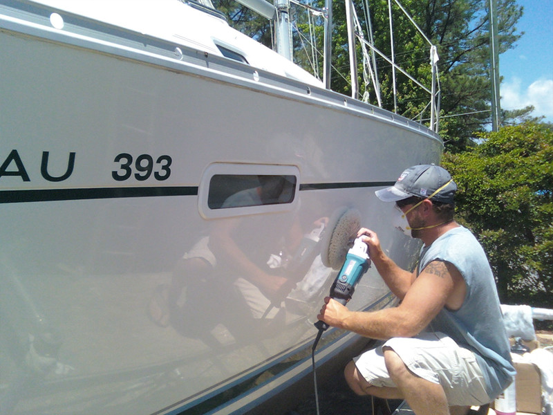 Boat Maintenance is a Priority