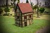 Timbered Medium Town House