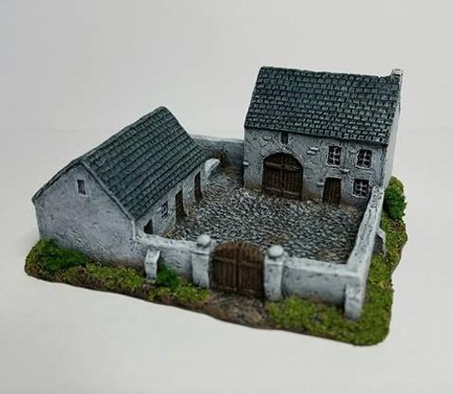 Enclosed Farmhouse & Stables