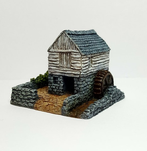 Small Rural Water Mill