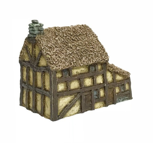 Thatched Timber Framed House