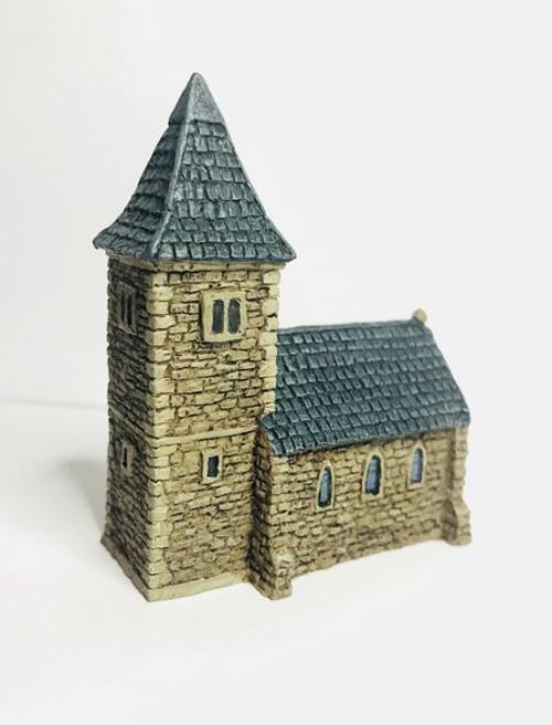 European Church with Spire
