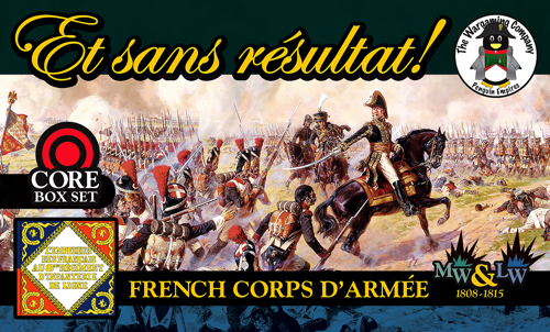 French Corps d'armée (Mid-Late War) ESR Box Set