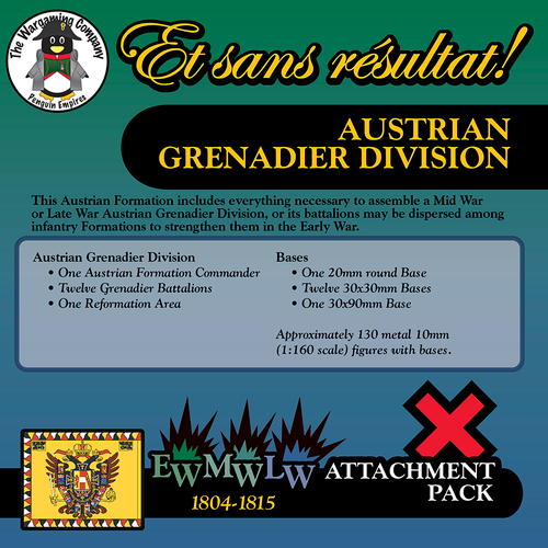 Austrian Grenadier Division (Early-Mid-Late War) Attachment Pack