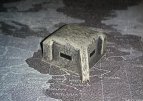 Large Concrete Bunker