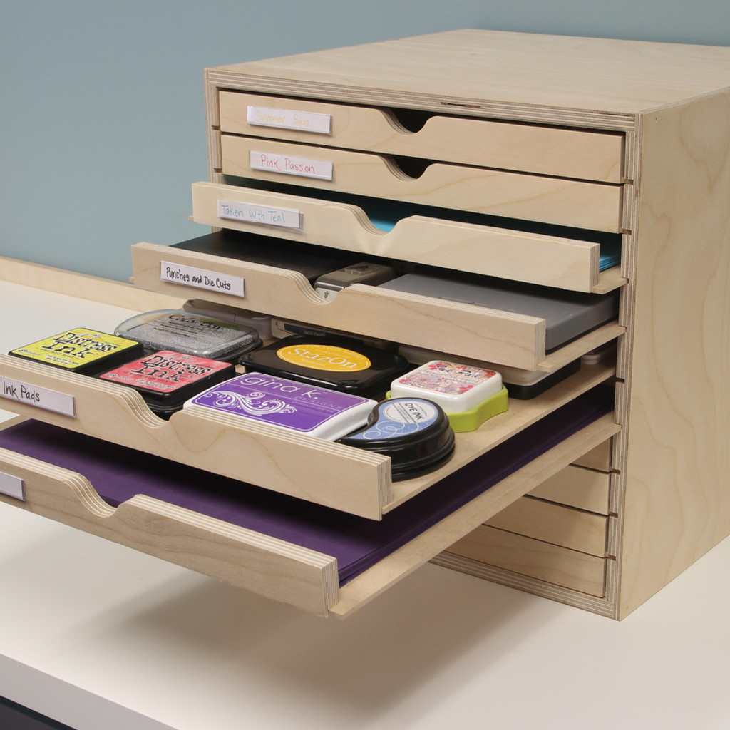 There are so many options when it comes to what to store inside of your Drawer Cabinet!