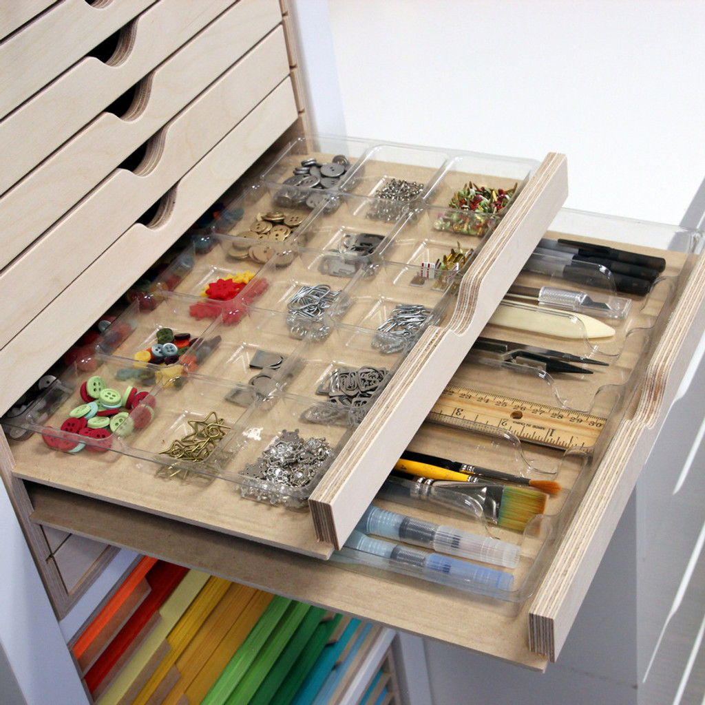Accessory Trays in a Drawer Cabinet for IKEA