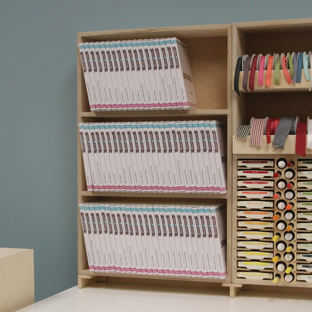 The Stamp Case Shelf storage is great for storing all of your stamp cases.