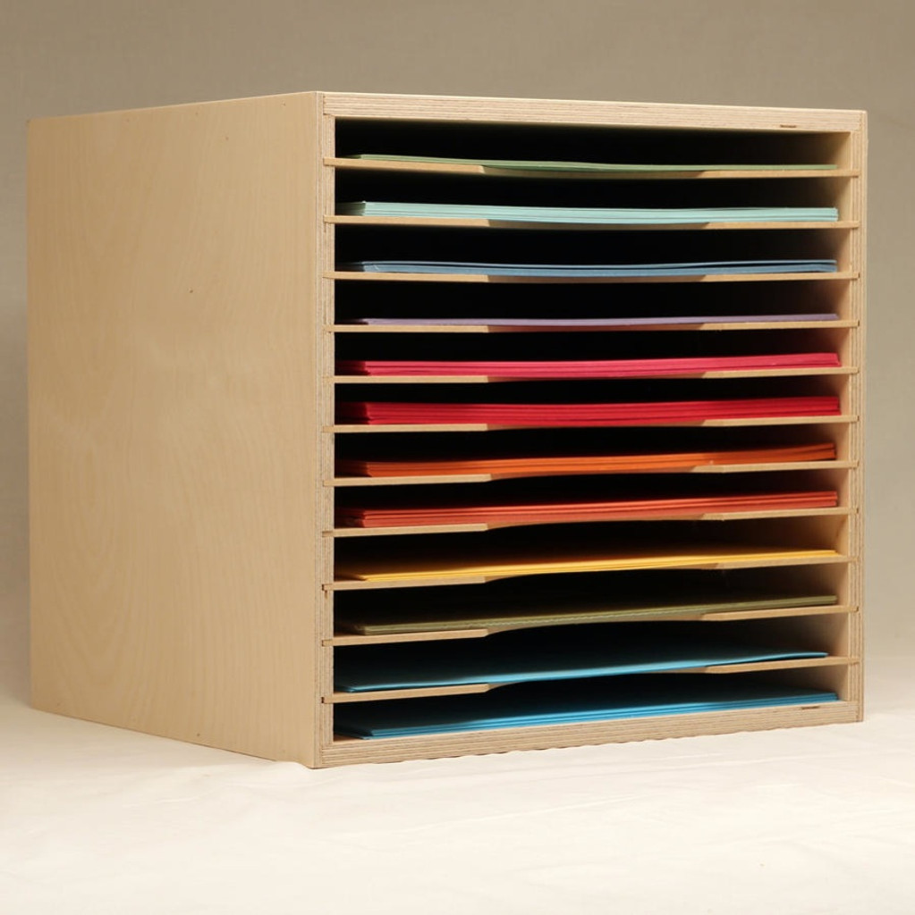 The 12x12 Paper Holder Is An Excellent Option For Your Paper Storage. It  Keeps All