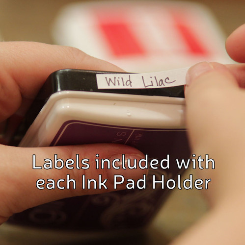 We'll help you easily label your ink pads!