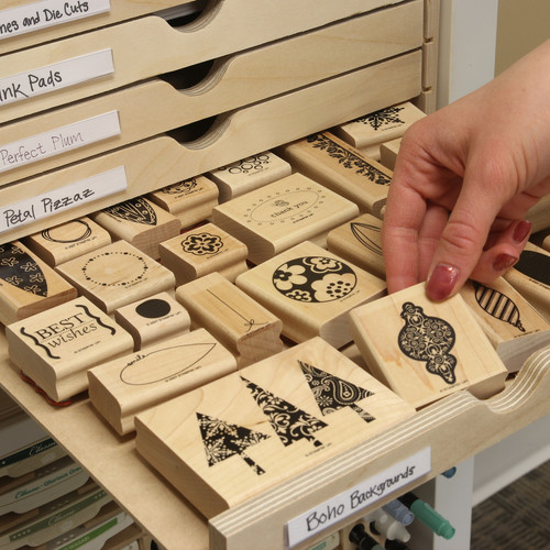 rubber stamp storage - 500×500