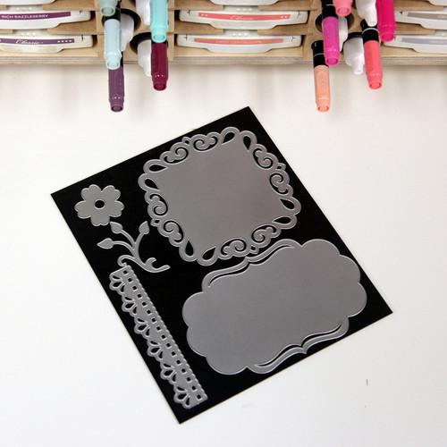 8x7 magnet card die cut storage supplies