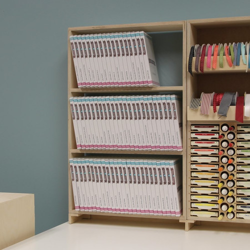 Double Stamp Case Shelf