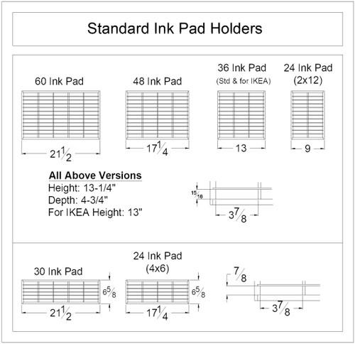 Standard Ink Pad Holder
