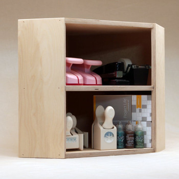 Corner Shelf Stamp N Storage