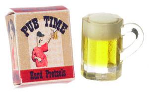 FA11164 - PUB TIME PRETZEL & MUG of BEER