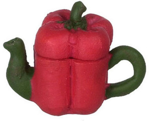 FCA180 - Red Bell Pepper Teapot - N4180