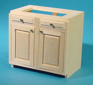 "HW13403 - Kitchen Cabinet Kit - 3"" Base - stove/sink - Unfinished"