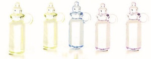 Oversize baby bottles, NOT to dollhouse scale