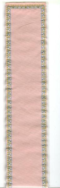 "Dollhouse Miniature - Carpet/Stair Runner - Pink - 2.5"" x 24"" - 1241"
