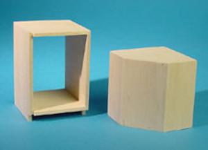 HW13409 - Kitchen Cabinet Kit - Corner (Upper & Lower) - Unfinished