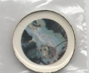 Dollhouse Miniature - GUARDIAN ANGEL PLATTER - 125