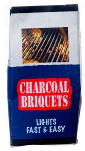 Dollhouse Miniature - FR56038 - FA56038- Charcoal Briquettes Bag