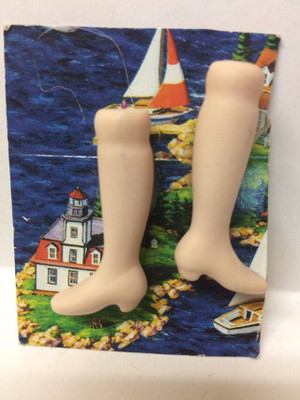 Dollhouse Miniature - LOW HEEL - Porcelain Doll Kit Legs Only