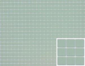 """Dollhouse Miniature - FF60625 - Tile: 1/4"""" Sq. - Blue - 12"""" x 16"""""""