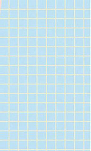 Dollhouse Miniature - No Wax Floor - Small Check - Blue - MH5924