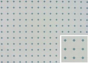 Dollhouse Miniature - Tile: Diamond - Blue - FF60650