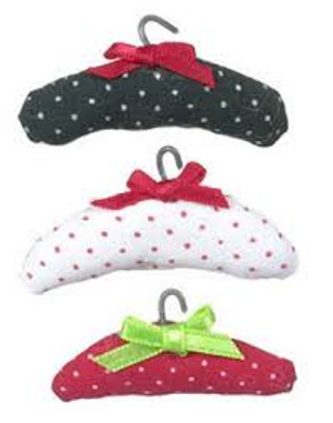 Dollhouse Miniature - MA2307 - Padded Clothes Hanger