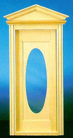 CLA76002 - Victorian Oval Door with Window