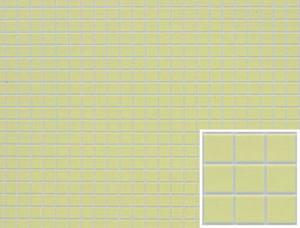Dollhouse Miniature - FF60620 - Tile: SQUARE - YELLOW