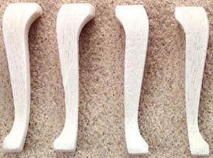 "CLA77828 - Cabriole Legs - 1-3/8"" -  4/Pk"