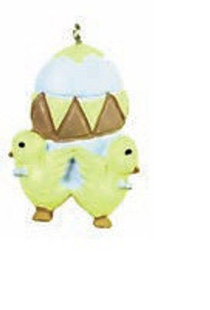 G3411 - Easter Egg & Chicks - Flat