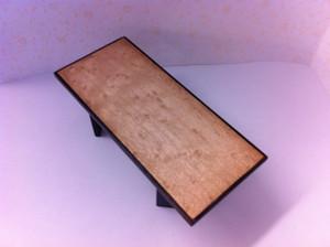 236008 - OOAK Coffee Table - Birdseye Maple