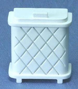 CLA10667 - Laundry Hamper - White