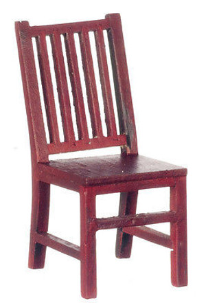 P3146 -  STRAIGHT SIDE CHAIR/MAHOG