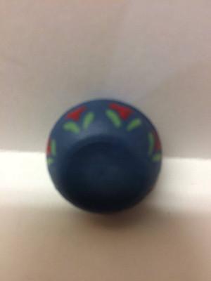 Dollhouse Miniature - 3804 - Blue Bowl - Hand painted - OOAK