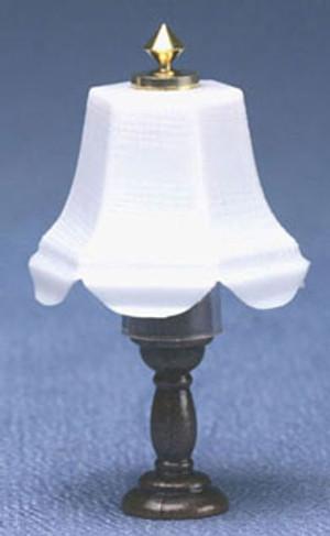 Dollhouse Miniature - MH642 - Table Lamp - Dark Base - 12 volt